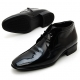 Mens real Leather lace up Ankle Boots celebrity dress shoes