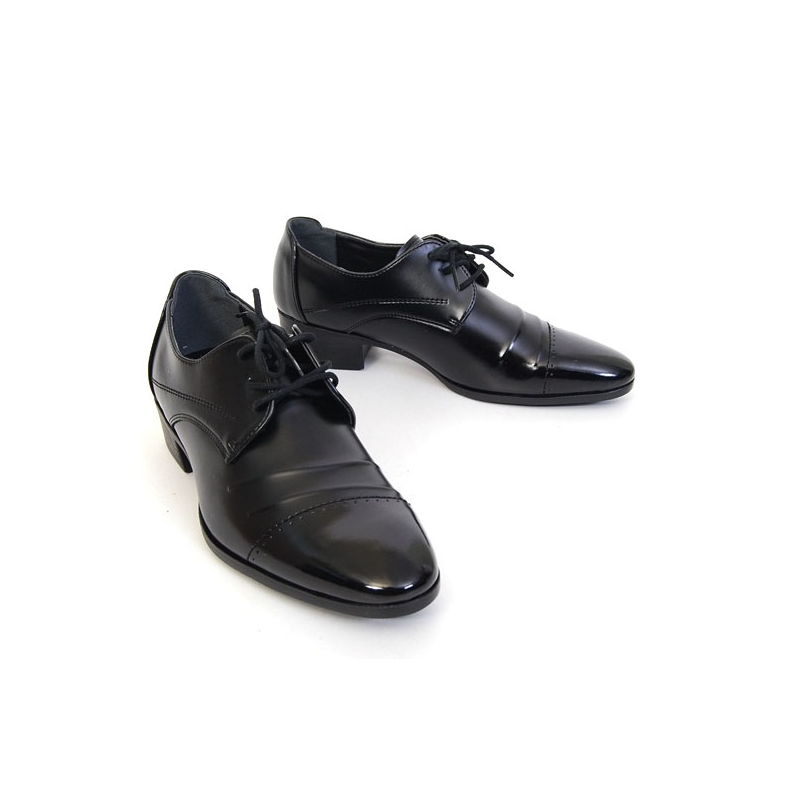 Straight Tip Wrinkle Dress Shoes