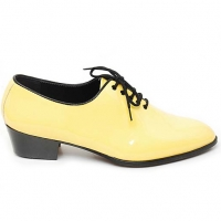 "Mens Yellow  Lace Up 1.57"" heel Dress shoes made in KOREA US 5.5 - 10.5"