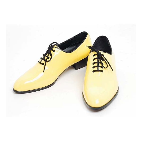 Mens ready made by hand oxfords 1.57 inch heel Dress shoes