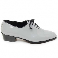 "Mens Gray Lace Up 1.57"" heel Dress shoes made in KOREA US 5.5 - 10.5"