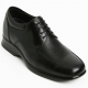 "Men 2.75"" UP black real Leather increase height Lace up Shoes made in KOREA US 5.5 - 10"