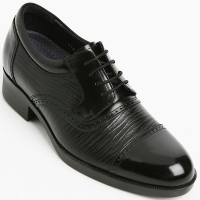 """Mens 3.15"""" UP real Leather increase height Lace up Shoes made in KOREA US 6 - 10"""