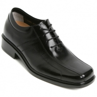 """Mens 2.76 """" UP real cow Leather increase height Lace up Shoes made in KOREA US 5.5 - 10"""