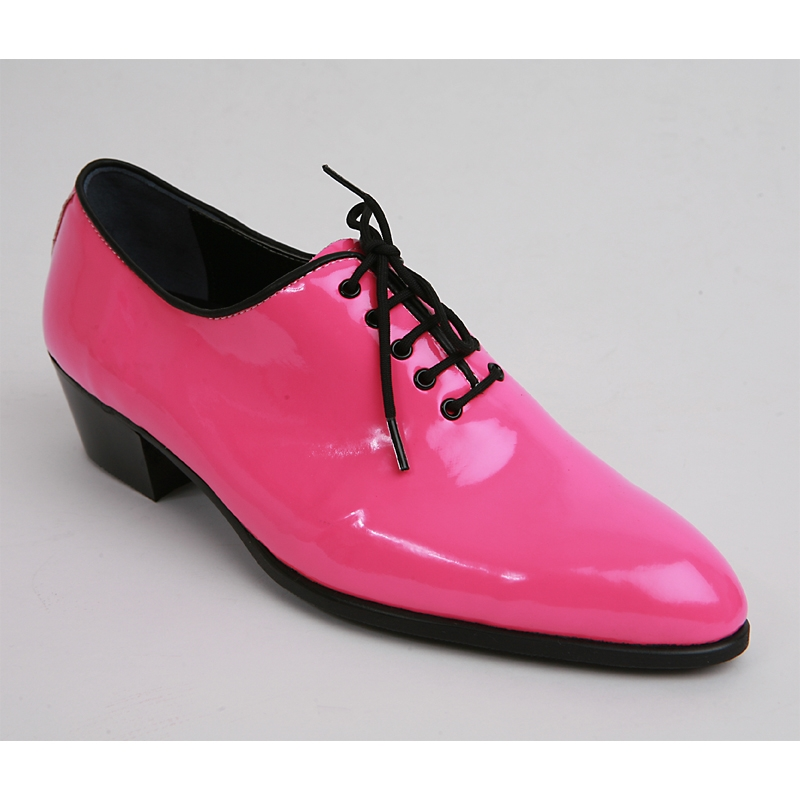 mens made by oxfords 1 77 inch heel dress pink shoes