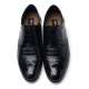 Mens wing tip real leather round toe increase height hidden insole lace up oxfords dress shoes