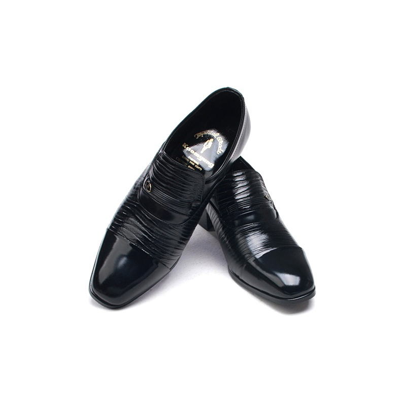 Men S Two Tone Black Cow Leather Loafers