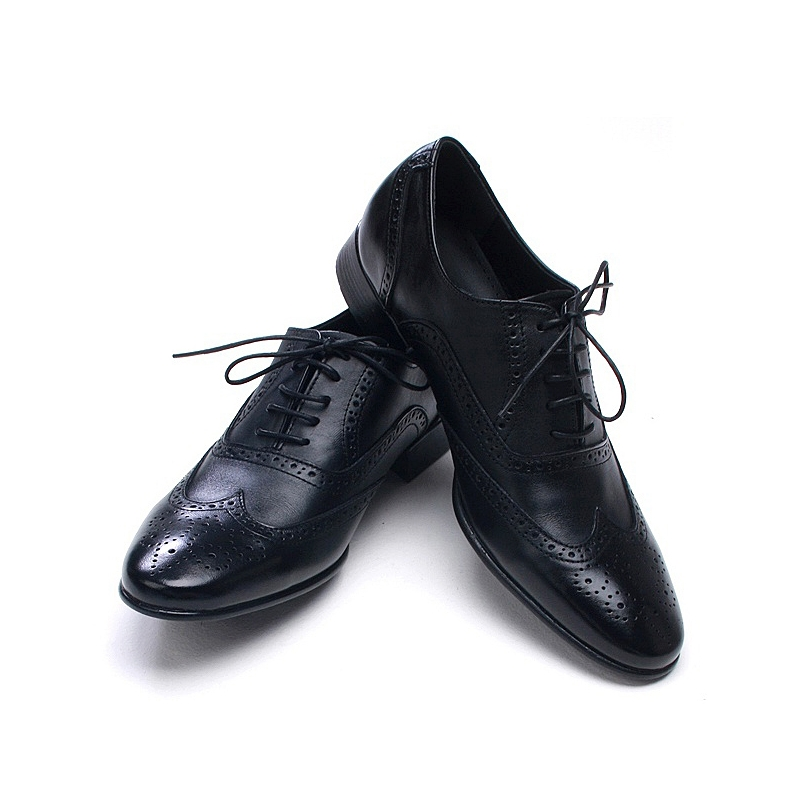 mens black wingtip dress shoes www pixshark images