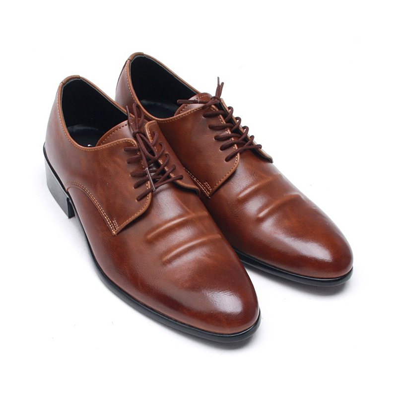 Leather Dress Shoes Wrinkles