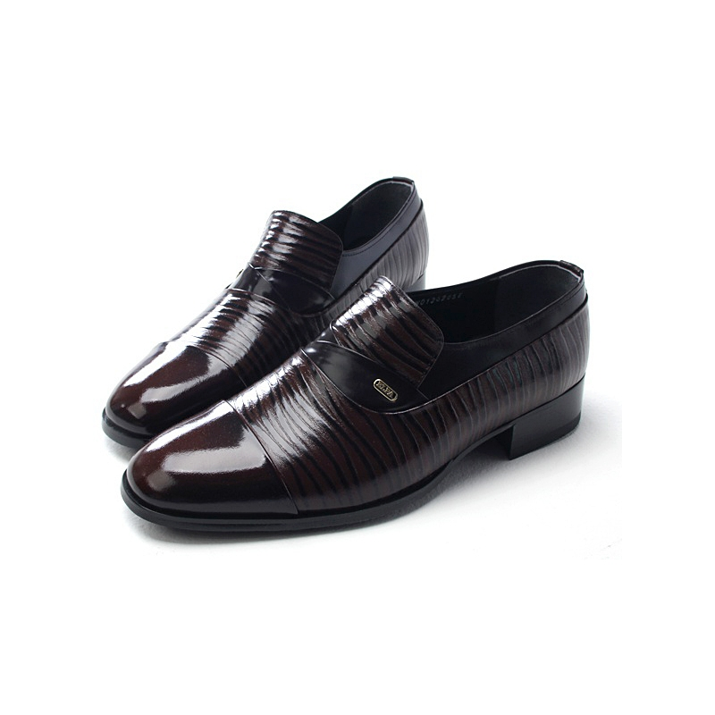 Men's Cow Leather/Rubber Shoes Loafer