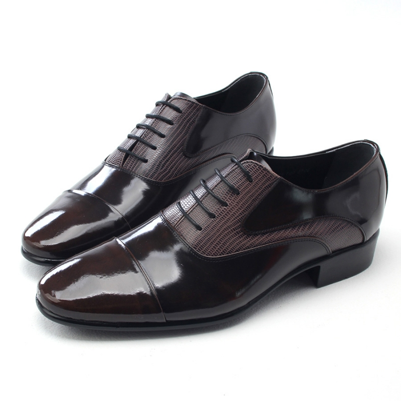Mens Two Tone Straight Tip Saddle Shoes