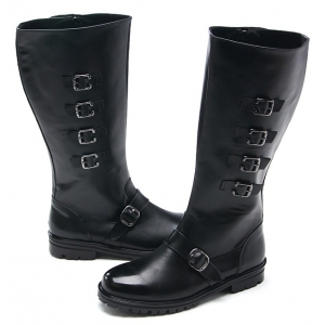 http://what-is-fashion.com/1821-14307-thickbox/mens-multi-buckle-strap-decoration-side-zip-combat-sole-cow-leather-mid-calf-riding-boots-made-in-korea.jpg