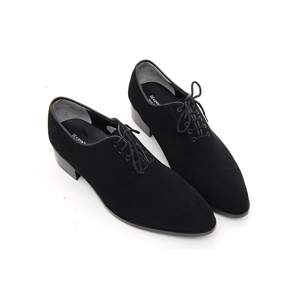 Accent brown dress pants or gray suit pants with suede shoes for men. Uncover black shoes in suede to wear with white pants and black pants alike. Gray shoes are .