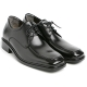 """Men 2.4"""" UP black real Leather increase height stitch Lace Up dress Shoes made in KOREA US 5.5 - 10"""