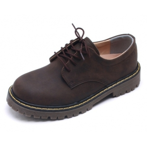 http://what-is-fashion.com/2028-15462-thickbox/womens-raise-round-toe-contrast-stitch-lace-up-combat-sole-matt-brown-shoes.jpg