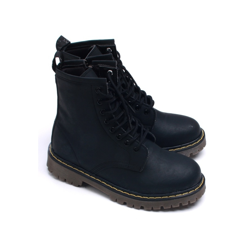 Combat Ankle Boots - Cr Boot