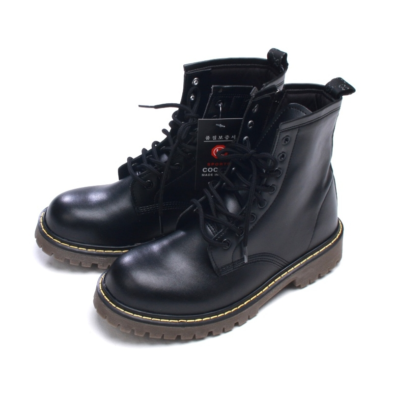 Elegant Ankle Combat Boots For Women - Yu Boots