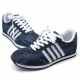 Mens vintage fabric contrast stitch four line detail eyelet lace up low heels fashion sneakers US5.5-US10.5