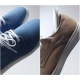 Mens chic round toe increase height hidden insole eyelet lace up fashion sneakers elevator shoes