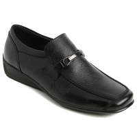 Mens  loafers stud stitch real cow Leather Shoes black made in KOREA US 6.5 - 10