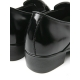 """Mens 2.4"""" UP black real cow Leather increase height studded Shoes made in KOREA US 5.5 - 10"""
