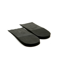 1 cm Up Black increase height insole half shoe for Womens & Mens free size made in KOREA