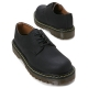 Mens synthetic leather stitch Lace up stitch combat sole shoes black made in KOREA US 5 - 10.5