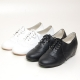 Womens chic round toe wing tip punching eyelet lace up comfort wear daily hidden wedge insole oxford elevator shoes