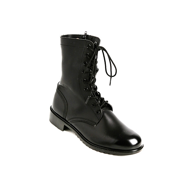 real Leather combat ankle boots