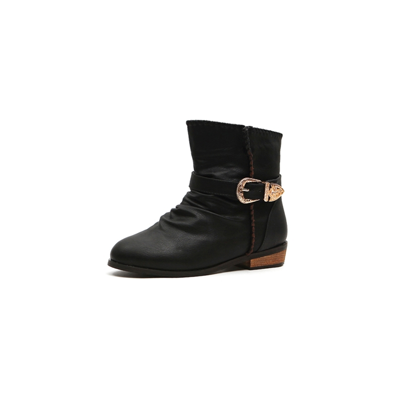 Womens warm inner fur ankle boots