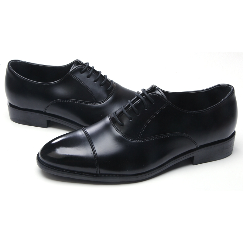 Mens Pink Leather Dress Shoes