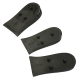 5.5 cm Up black Air Cusion increase height half insole shoe for Womens & Mens made in KOREA