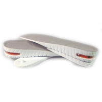 5 cm Up WHITE Air Cusion increase height insole shoe for Womens & Mens made in KOREA