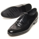 Mens wrinkle round toe lace up black Dress shoes US 5.5 - 13