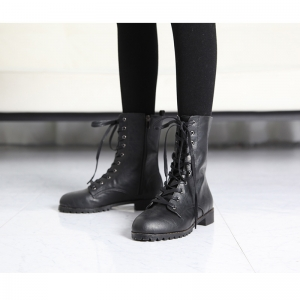 http://what-is-fashion.com/4401-34263-thickbox/women-s-rock-chic-synthetic-leather-combat-sole-side-zip-closure-black-lace-up-ankle-boots.jpg