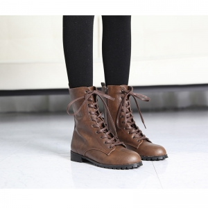 http://what-is-fashion.com/4402-34269-thickbox/women-s-rock-chic-brown-synthetic-leather-combat-sole-side-zip-closure-lace-up-ankle-boots.jpg