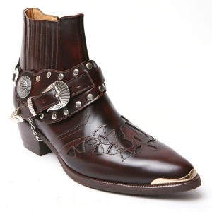 http://what-is-fashion.com/4441-34618-thickbox/-men-s-brown-real-leather-contrast-patch-studded-side-zip-western-ankle-bike-rider-boots-.jpg