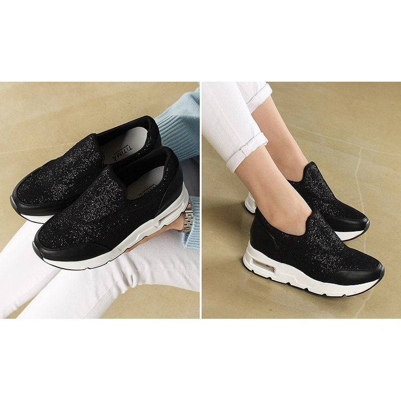 Women Fashion Platform Sneaker Slip On