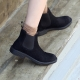 Muna Side Gore Ankle Boots Flat