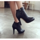 Emila high heels ankle boots
