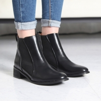 Women's side gore ankle boots