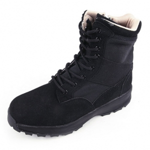 http://what-is-fashion.com/4665-36928-thickbox/men-s-black-two-tone-synthetic-suede-fabric-eyelet-lace-up-velcro-strap-combat-sole-ankle-boots.jpg