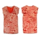 WOMENS-VINTAGE-RUNWAY-DESTROYED-COTTON-JERSEY -T-SHIRT Free shipping