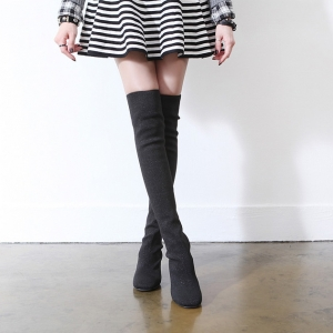 http://what-is-fashion.com/4866-38448-thickbox/women-s-black-elastic-synthetic-fabric-chunky-heels-sock-tigh-high-boots.jpg