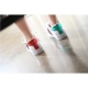 Women's Arrow Embellished Lace Up Glitter green red back detailed Low-Top Sneakers