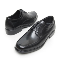 Men's Black simple lace ups dress shoes big size US 6 ~ US 12