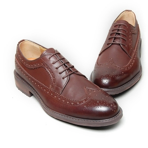 0b3cc5510aa6c6 http://what-is-fashion.com/4913-45989-. Men's dark brown leather wing tip  longwing brogues Oxford shoes