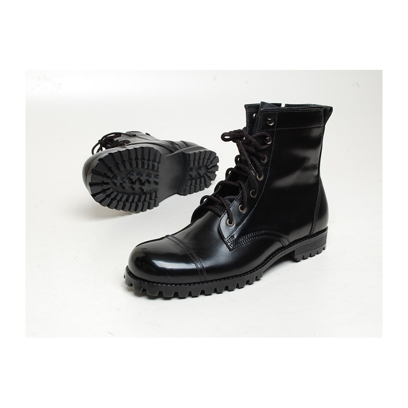 Men S Chic Cap Toe Eyelet Lace Up Side Zip Back Tap Hand