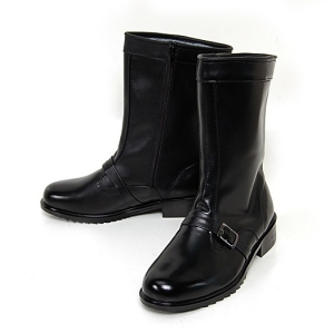 http://what-is-fashion.com/4964-39236-thickbox/men-s-plain-toe-buckle-strap-black-leather-inner-fur-side-zip-combat-sole-mid-calf-boots.jpg