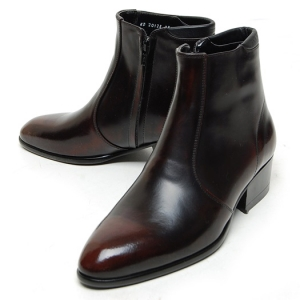 http://what-is-fashion.com/4969-39264-thickbox/men-s-plain-toe-brown-leather-side-zip-high-heels-anke-boots.jpg